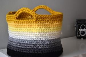 Ombre Basket by Elizabeth Trantham